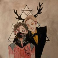 Hannibal/Gravity Falls by HannaLoony
