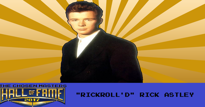 Chosen Mii Hall of Fame 2017 Inductee: Rick Astley by ChosenMii