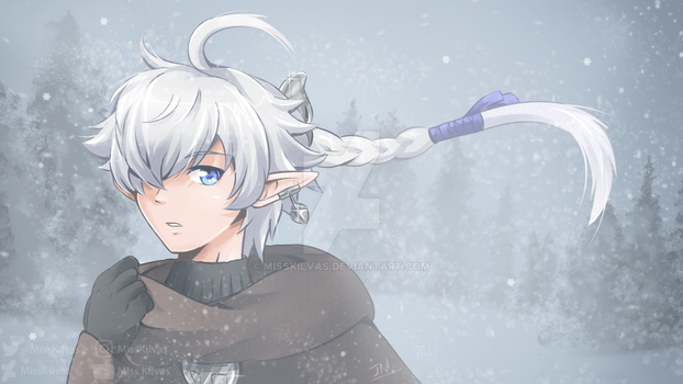 Final Fantasy XIV: Alphinaud (with video!) by MissKilvas