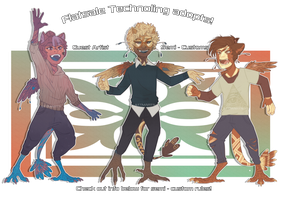 [TN] GA ADOPTS: TECHNOPOOTSSS [ CLOSED ] by STTMARTS
