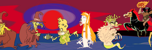 Boo Haw Haw Monsters by AnimatEd