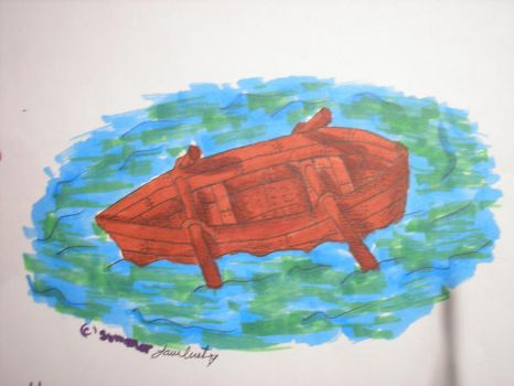 Rowboat in Copics by SummerKittyGirl
