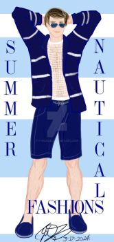 Summer Nautical Style by E-Ocasio