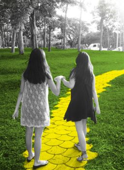 Follow the yellow brick road by unexpected-surprise