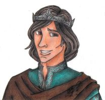 King Edmund The Just-coloured by HockeyWitch