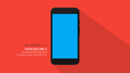 Android One | Evercoss One X | .PSD Mockup |v2 by jandyaditya