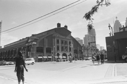 The St. Lawrence Market By Day, In Front by Neville6000