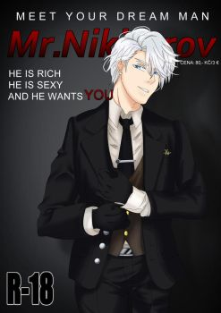 Mr.Nikiforov-manga by satchiko1115