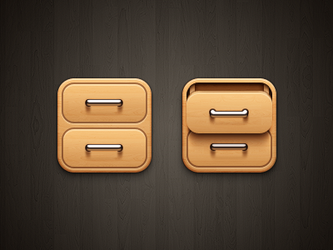 Drawer iOS by kyo-tux