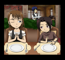 Give thanks... Before Eating by Ausagi