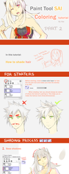 Hair Coloring Tutorial by BloodlineV