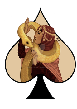 snake princess by TyaKo-and-Apple
