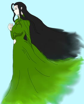 Mother Nature in the Wind by MurderousGirl97