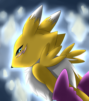 Renamon by Unichrome-uni