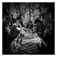 A game of chess by JimP4nsen
