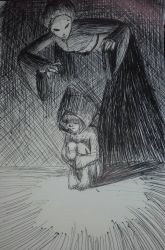 Lil'nightmares - sketch by aggieandco