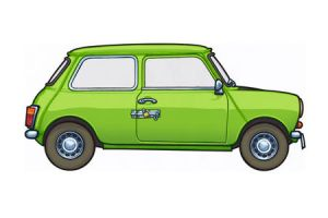 1976 British Leyland Mini by 451illustration