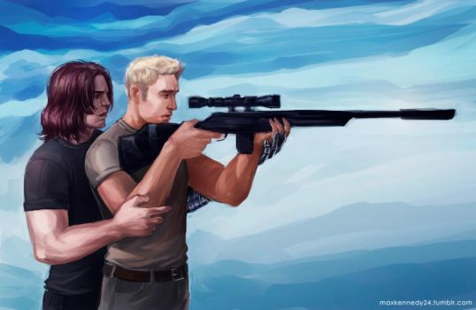 Captain America: The Winter Soldier - Let me show by maXKennedy