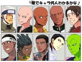 My favorite anime characters. by gigoro5656