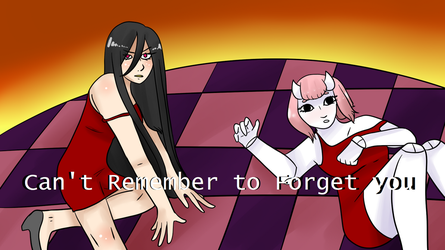 [Alyx] Can't Remember to Forget You [Samara] +UST by GraySlate