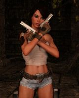 Lara 055 by Cosmics-3D-Angels