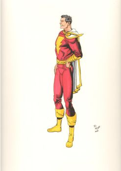 Captain Marvel-Jerry Ordway Tribute by kalanor