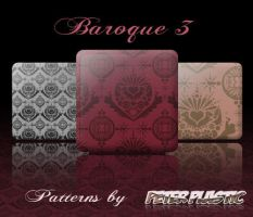 Baroque Patterns 3 by PeterPlastic