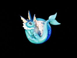 Project Evolution - Vaporeon by Gatobob