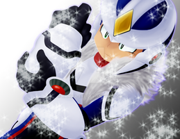 Rockman Xover: Over-1 by Kamira-Exe