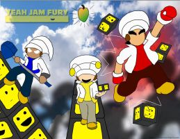 Yeah Jam Fury by Xero-J