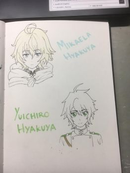 Mika and Yui by Teny1234