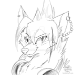 Navanya - Headshot Sketch Commission by JB-Pawstep