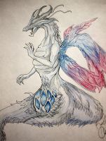 Seath the Scaleless (commission) by RendezvousRev