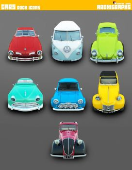 Archigraphs Cars Icons by Cyberella74