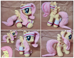 Hurricane Fluttershy plush by SewYouPlushieThings
