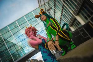 Mina and Tsu by Rinaca-Cosplay