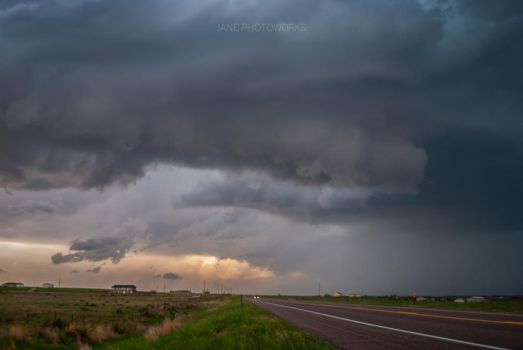 Eckley Wall Cloud by thegirlcalledratha