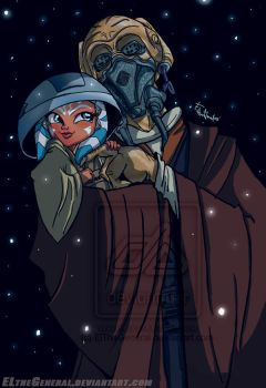 Plo Koon Finds Little Ahsoka by ElTheGeneral