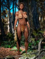 Cavewoman Basa by Superstrongbabes