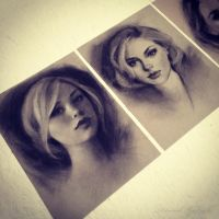 Charcoal drawings by GabrielleBrickey