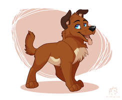 Thowback Thursday- Little Puppy by WindWo1f