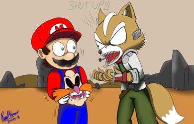 SMG4: Mario and Starfox by ReedAhmad