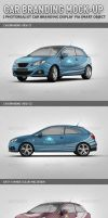 Car Branding Mock-up by idesignstudio