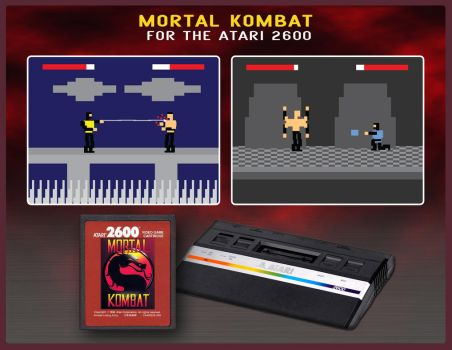 Mortal Kombat for the Atari 2600 by MR-RKFritz