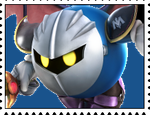 Meta Knight Stamp by RalphAguilar462