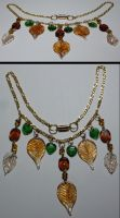 jewelry - Falling Leaves by Catgoyle