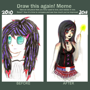 Draw This Again Meme by Crazed-In-Theory