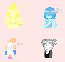 The Pearls by ArtGothGirlXO