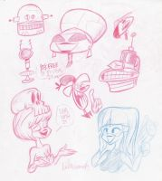 Sketch Bunch 21 by luismario
