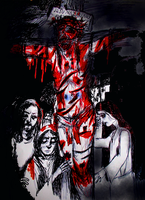 Crucifixion by JOHNNYFB